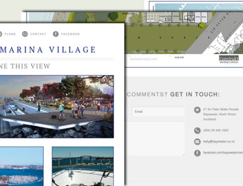 Bayswater Marina Village Website