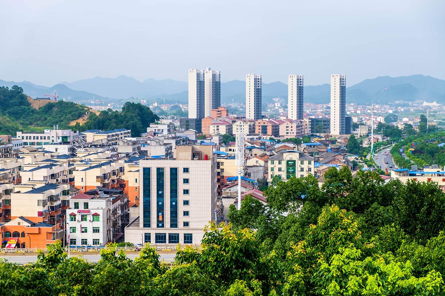 Liuyang cityscape